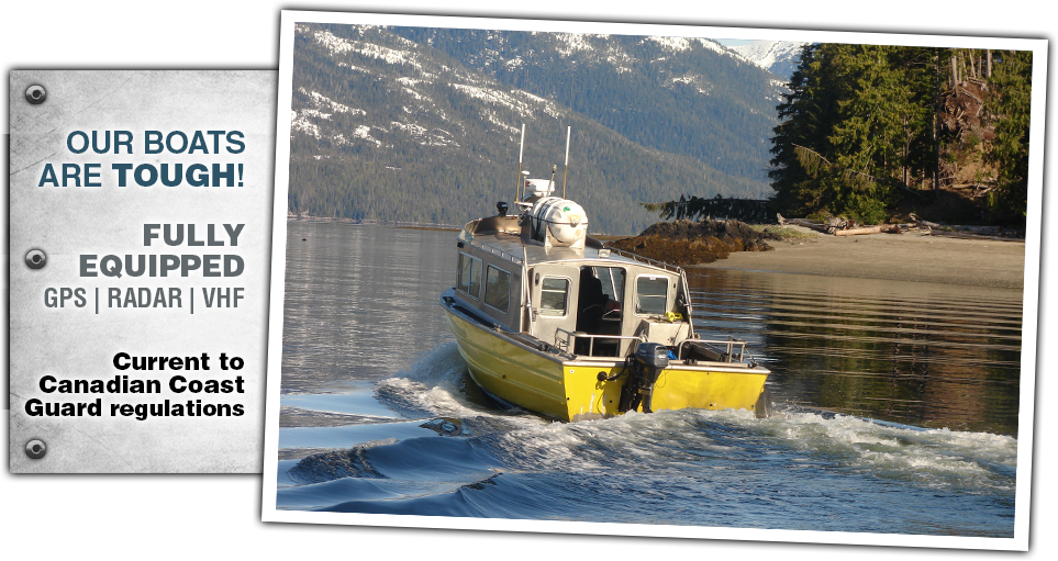 Boat leasing Port McNeill, Vancouver Island
