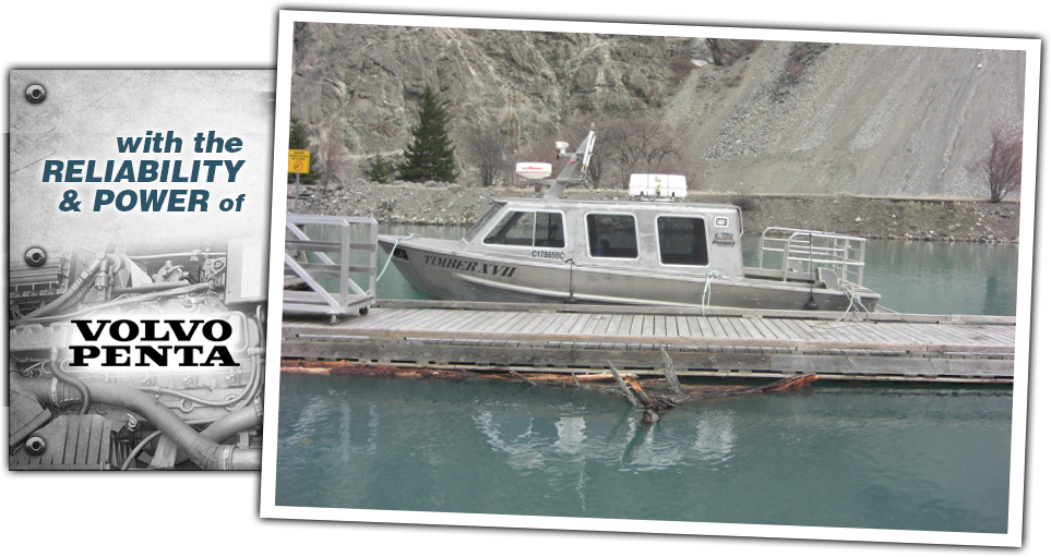 crew boat leasing northern Vancouver Island