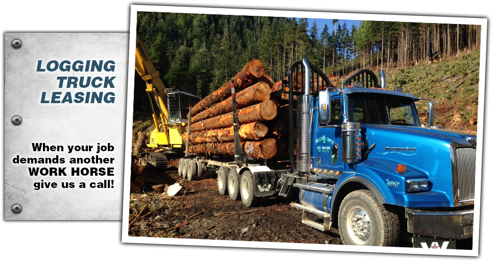 logging truck leasing
